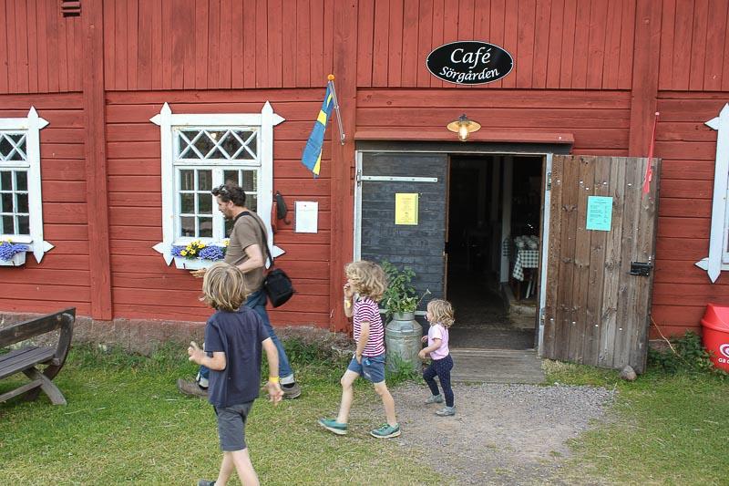Cafe in Bullerbue