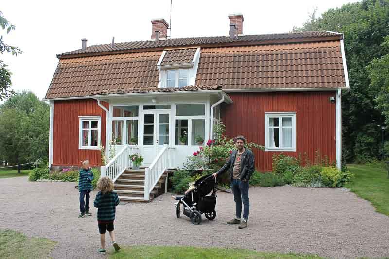 Astrid Lindgrens Geburtshaus-Vimmerby-Naes