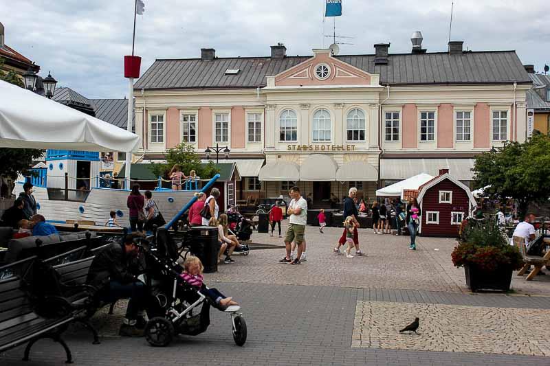 Das Stadthotel in Vimmerby