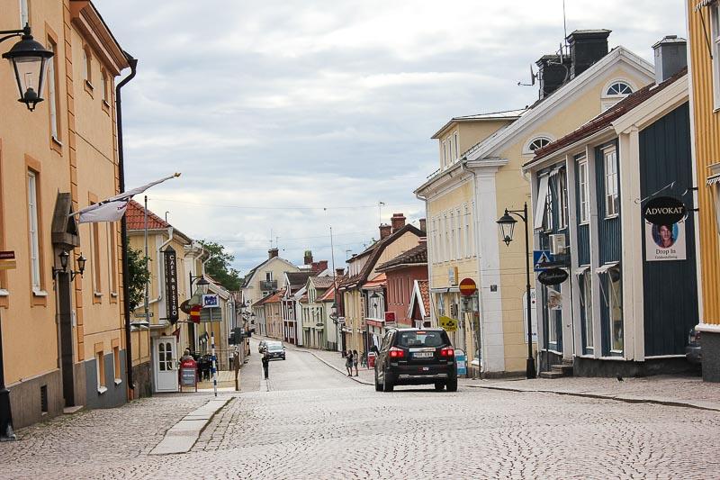 Die Storgatan in Vimmerby.
