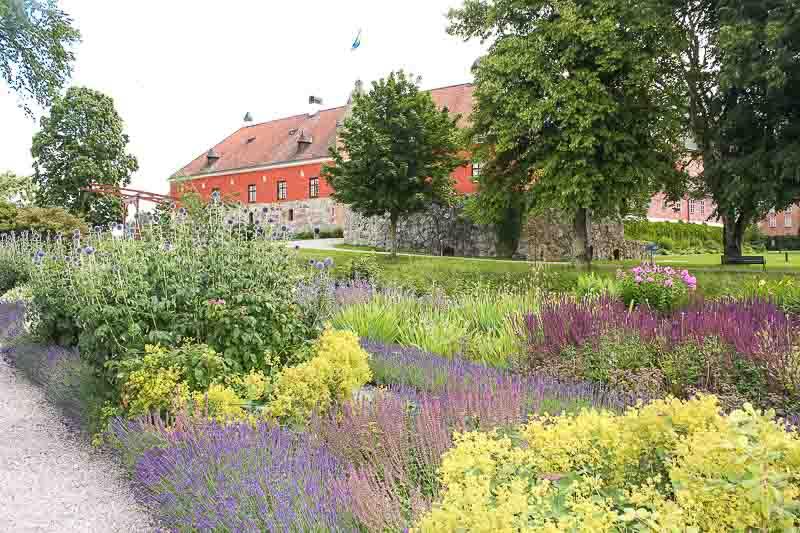Blumenbeet- Schloß Gripsholm