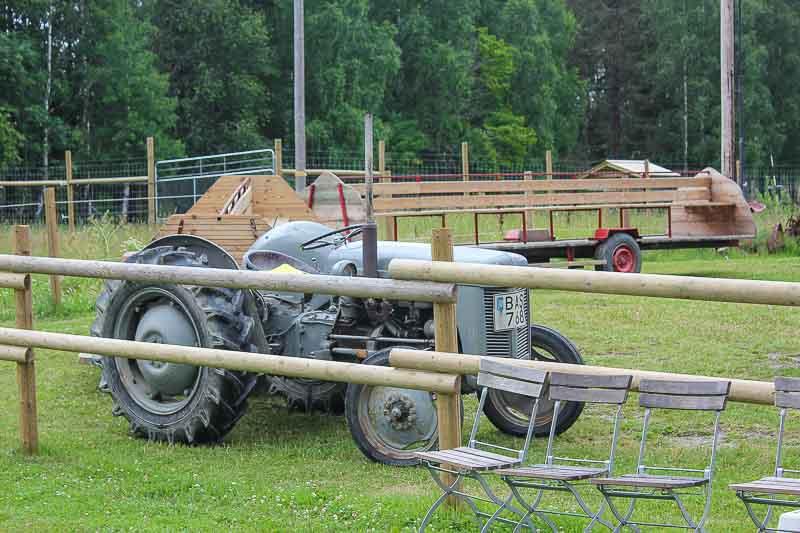 Traktor-Elchpark