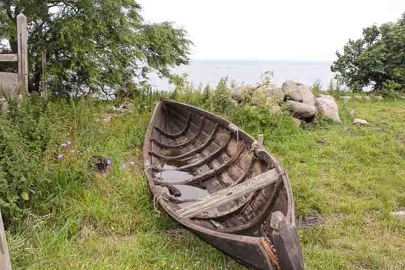 Blick auf die Ostsee-foteviken in Schweden