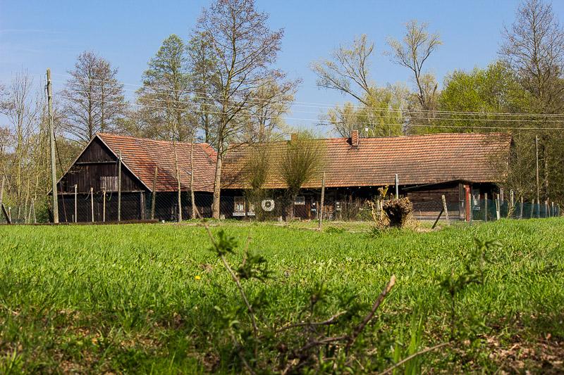 Bauernhof im Spreewald.