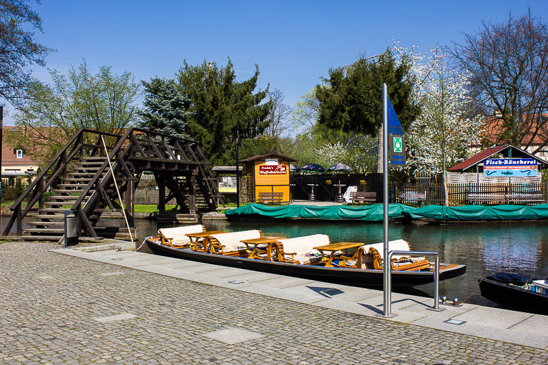 Großer Hafen in Luebbenau