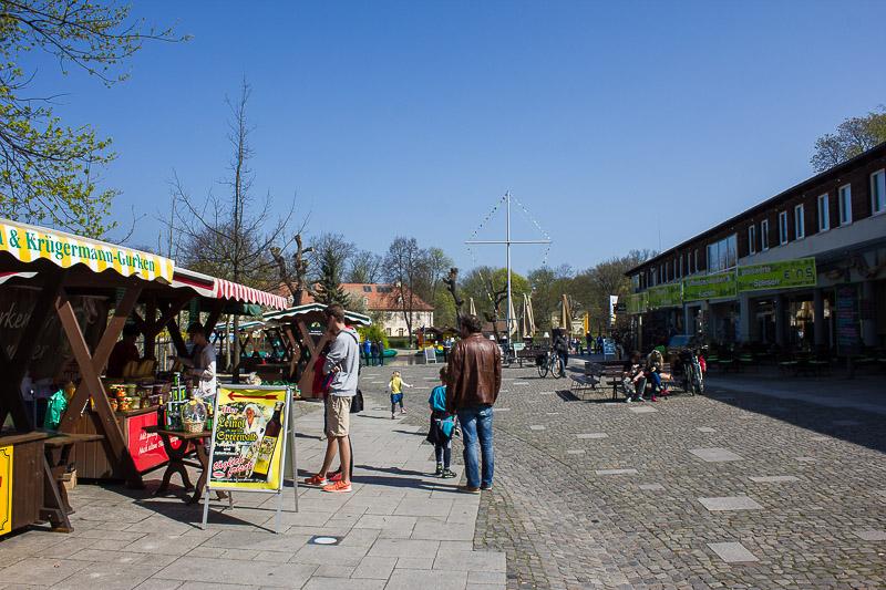 Großer Hafen in Luebbenau.