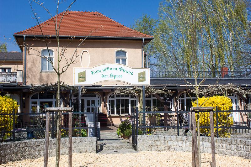 Restaurant Zum grünen Strand der Spree Luebbenau Hafen.