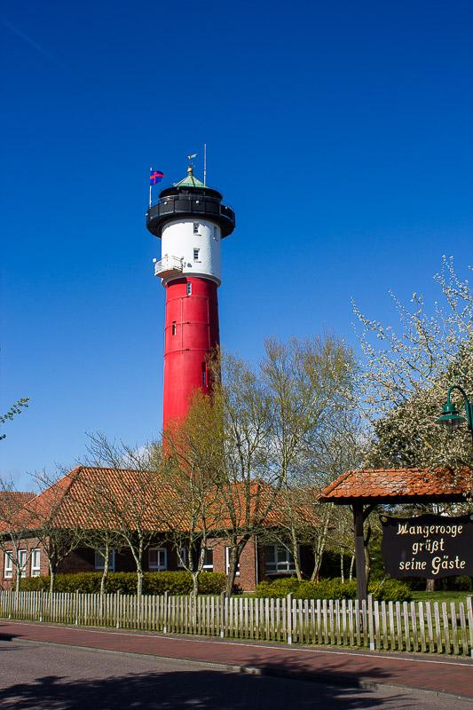 Alter Leuchtturm Wangerooge.