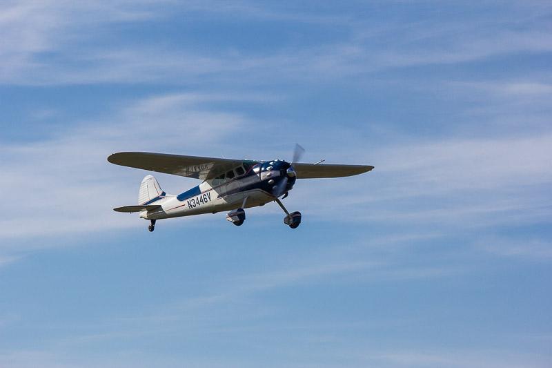 Propreller-Flugzeug auf Wangerooge.