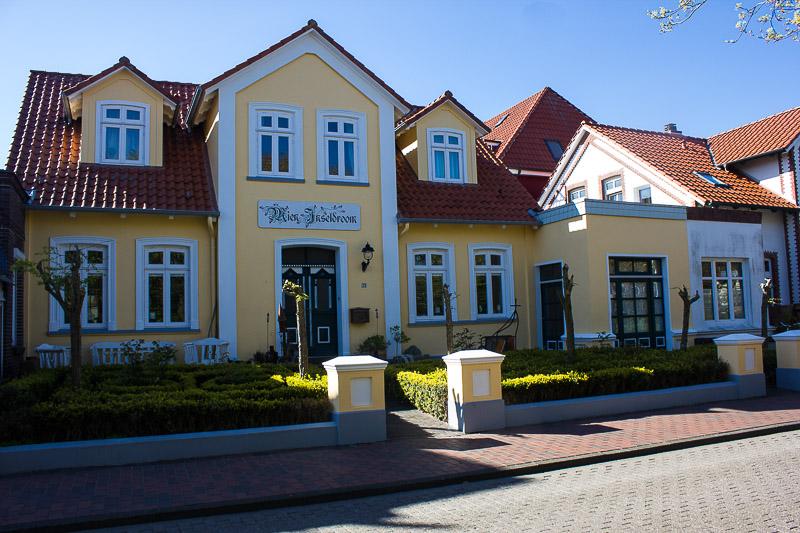 Haus in der Zedeliusstraße auf Wangerooge