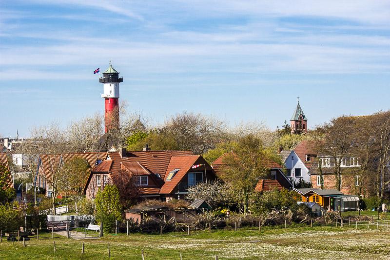 Dorf auf Wangerooge.