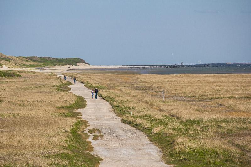 Osten der Insel Wangerooge.