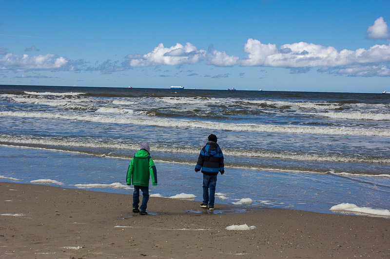 Nordsee auf Wangerooge.