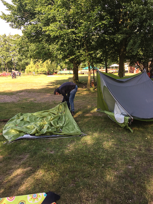 Campingplatz Hammestrand Worpswede.