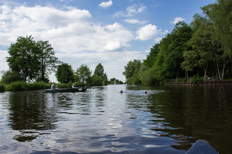 Der Fluss Hamme.
