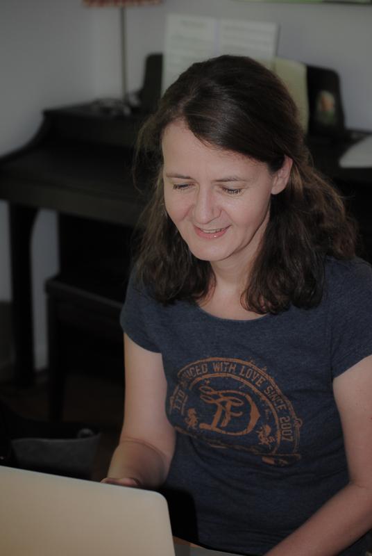 Schreiben am Computer.