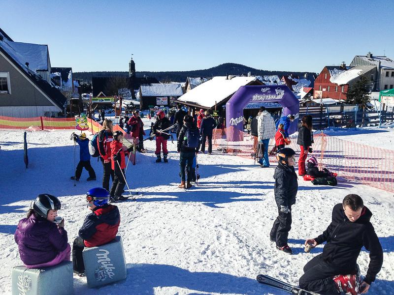Skiareal Navako Bozi dar.