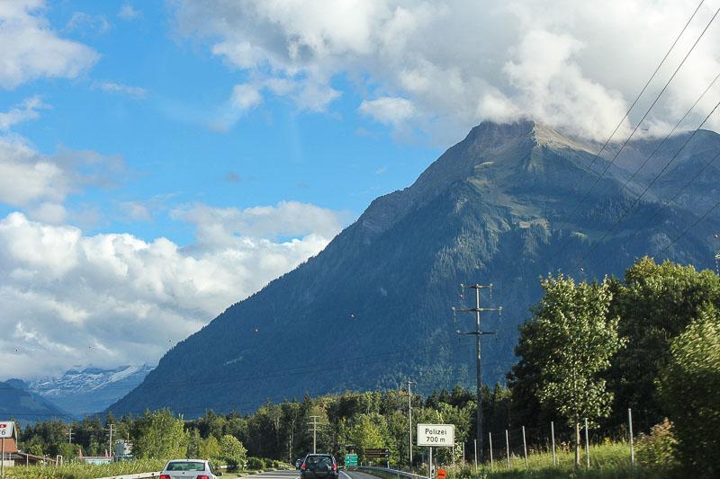 Der Niesen. Berg im Berner Oberland in der Schweiz.
