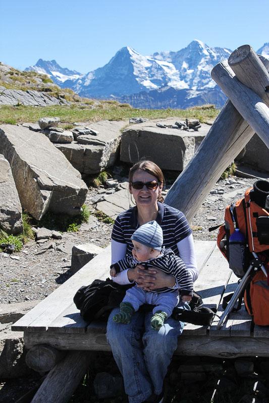 Auf dem Niesen im Berner Oberland- in der Schweiz.