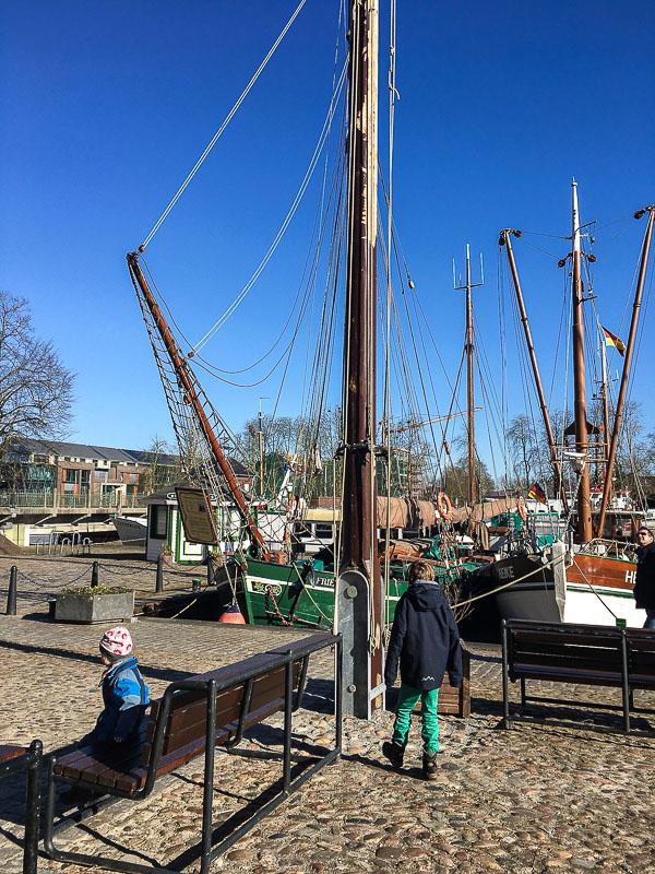 Hafen in Leer.
