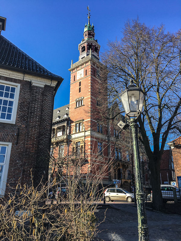 Rathaus in Leer.