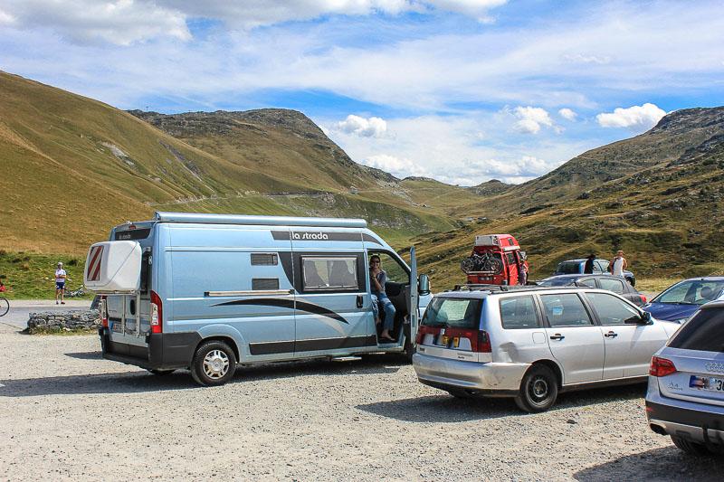 Col du Glandon Franzoesische Alpen
