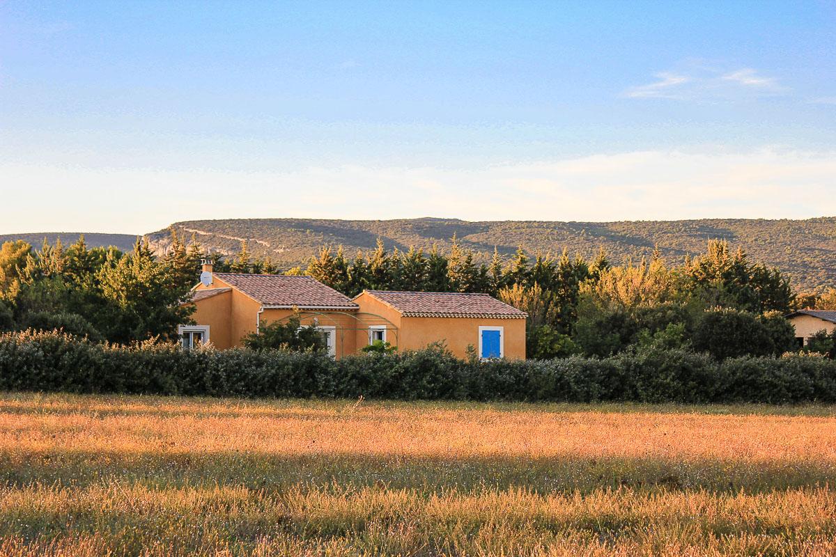 Im Luberon in Suedfrankreich und Provence.