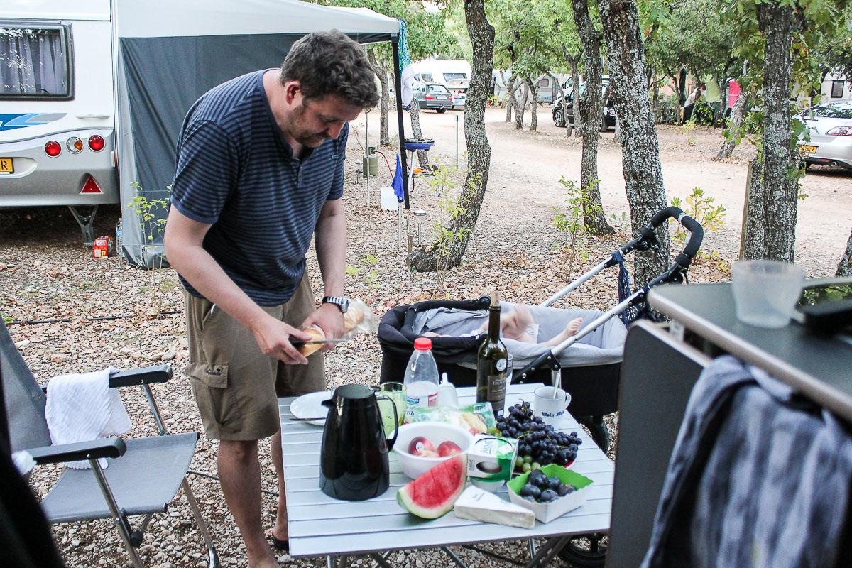 CampingplatzDomaine des Chênes Blancs in der Provence