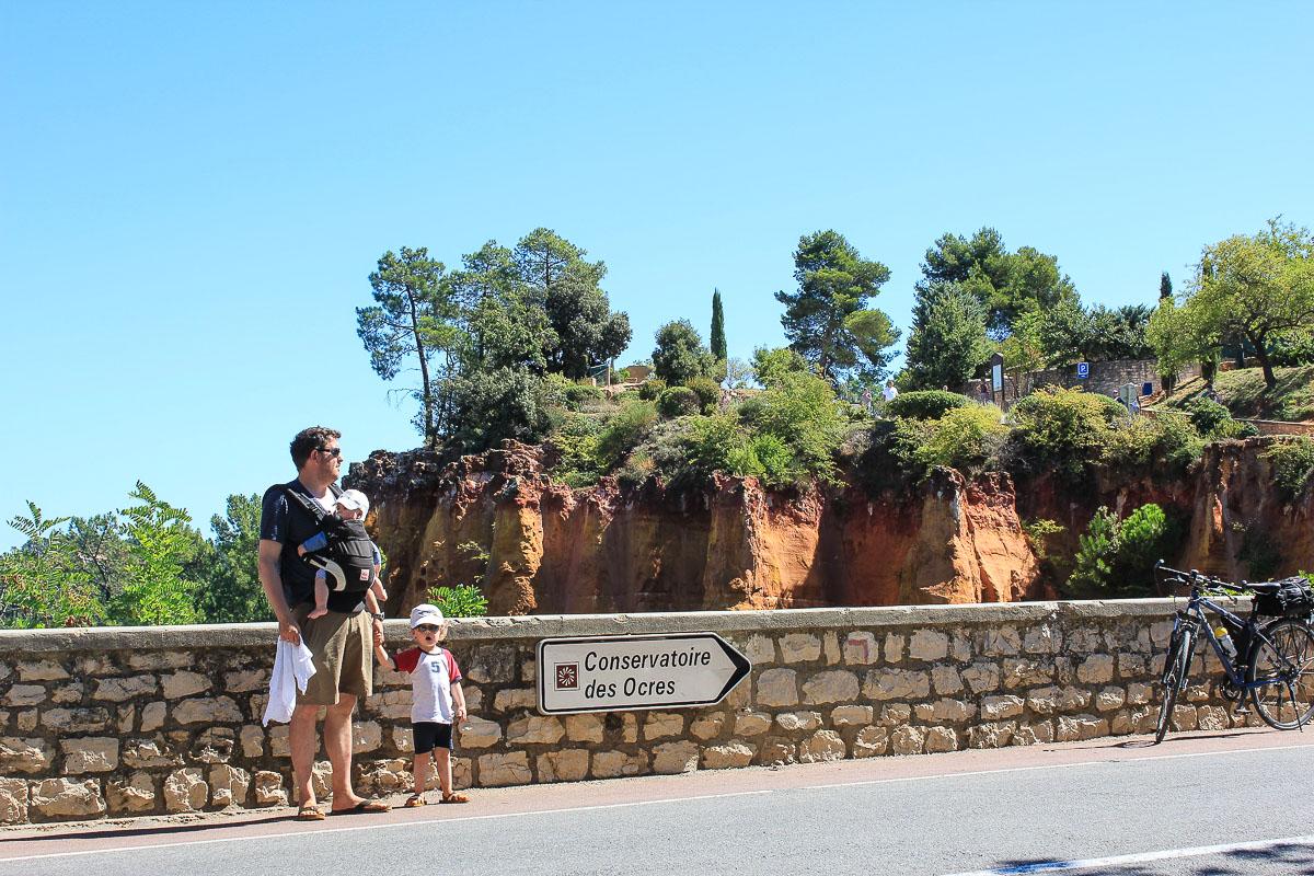 Avenue de la burlière in Roussillon
