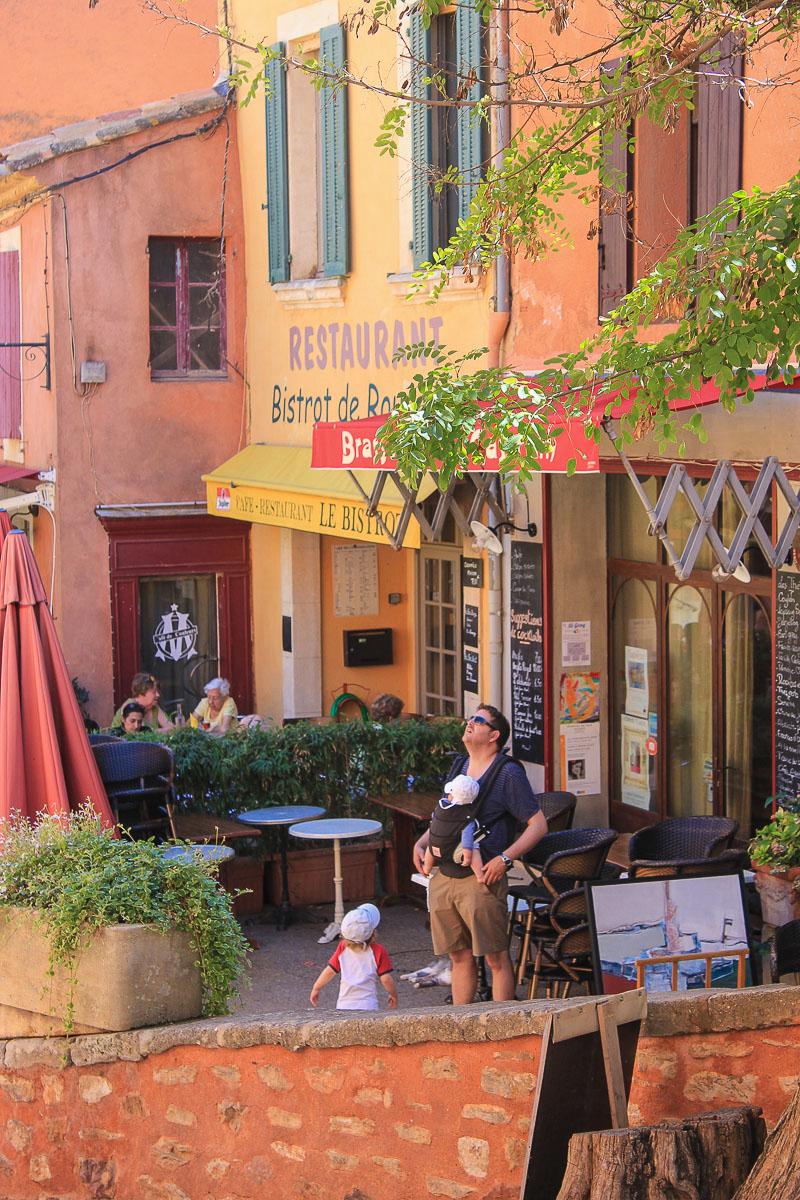 Roussillon Vaucluse Frankreich
