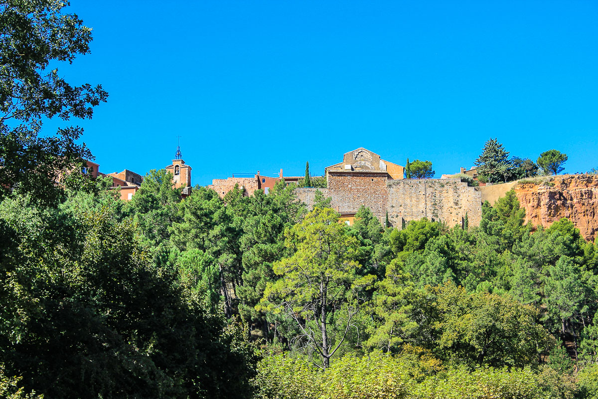 Roussillon in der Provence.