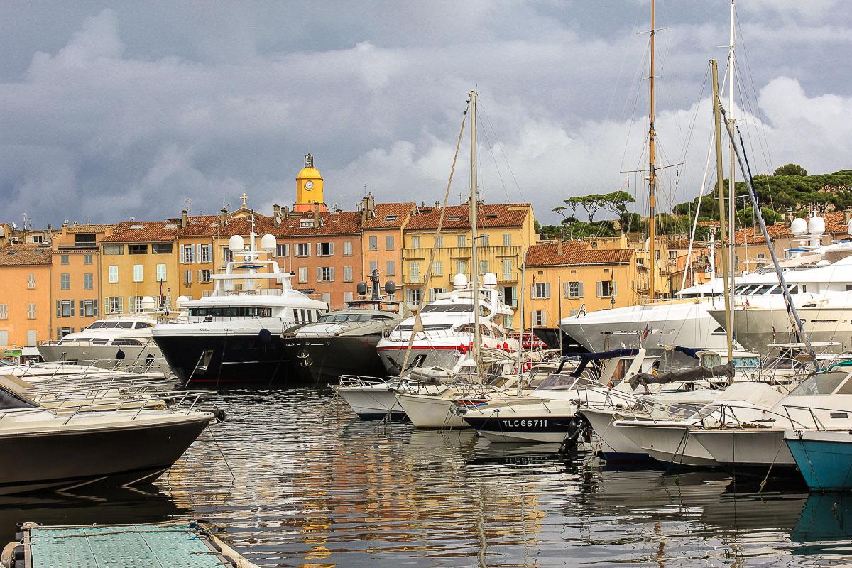 Saint-Tropez Hafen