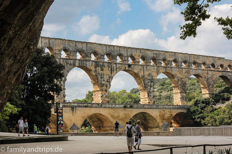 Pont du Gard in der Provence.