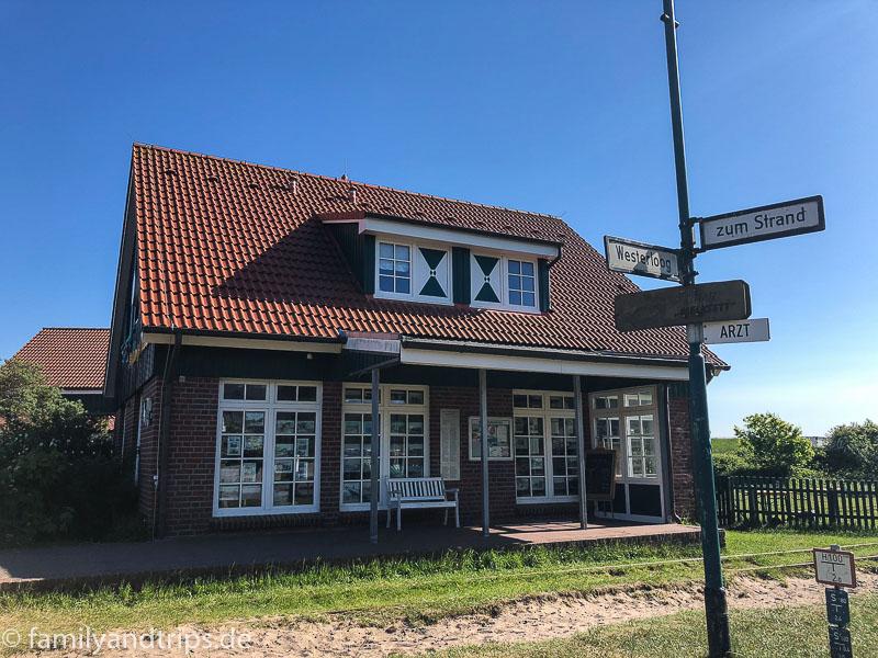 Pferdebahnmuseum auf Spiekeroog.