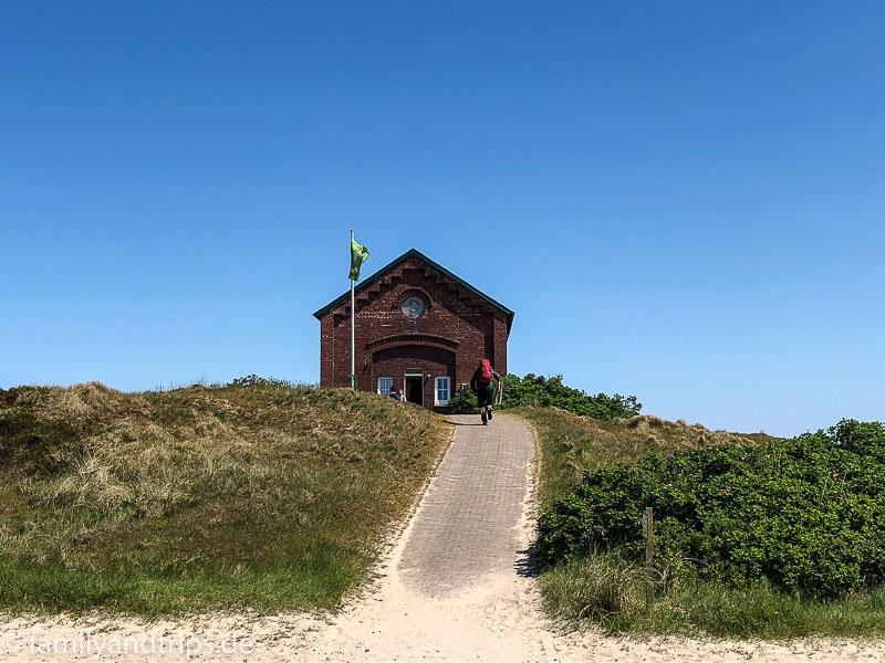 Anmeldung Campingplatz Spiekeroog.