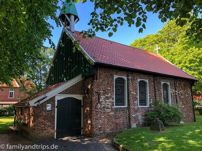 Alte Inselkirche von Spiekeroog.