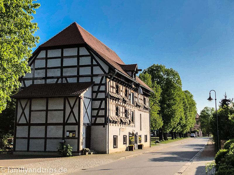 Alter Kornspeicher in Straupitz.