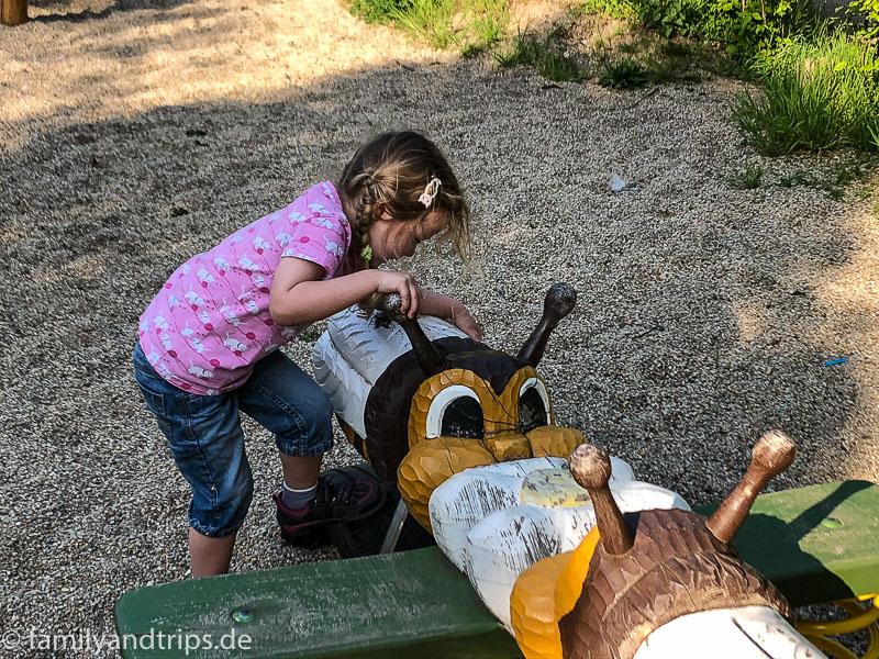 Spielplatz in Straupitz.