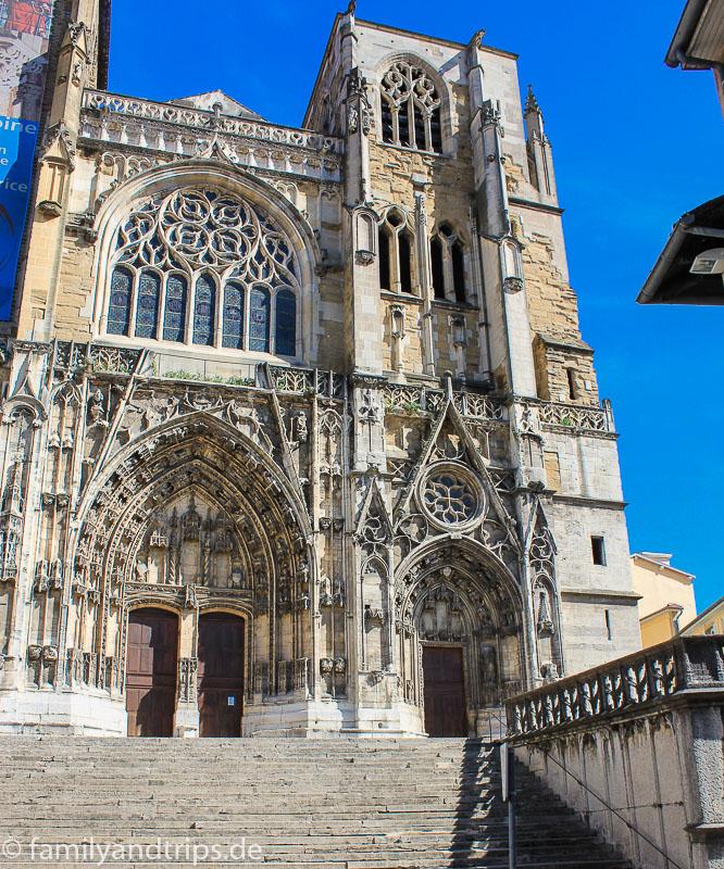 Kathedrale Saint-Maurice in Vienne.