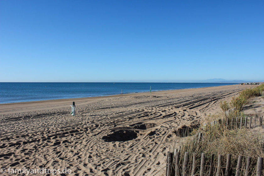 Languedoc-Roussillon-weiter-Strand