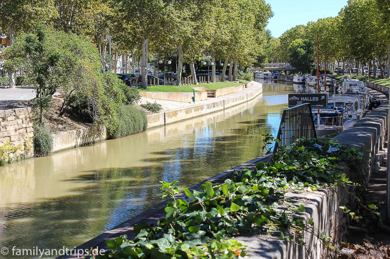 Canal du Robin in Narbonne.